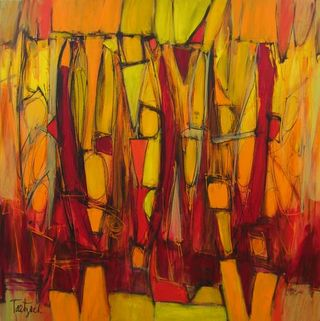 Amazing Abstract Art Abstract Painting At Kitchen Theatre For Complete Home Design Collection Epsylindsey Bellcom