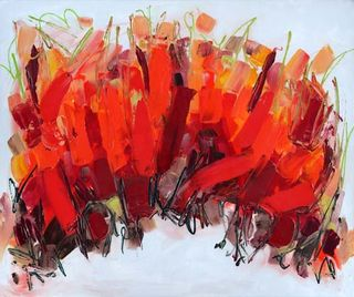 abstract art new abstract painting with high gloss finish